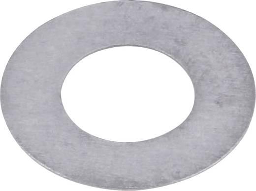 Staal Aanloopring 6 mm 12 mm 0.3 mm 20 stuks