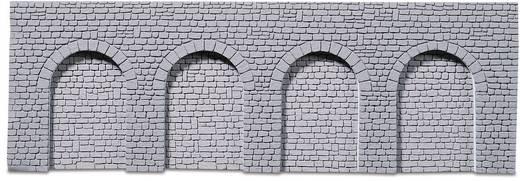 H0 Muur met metselwerk Arcade 246910