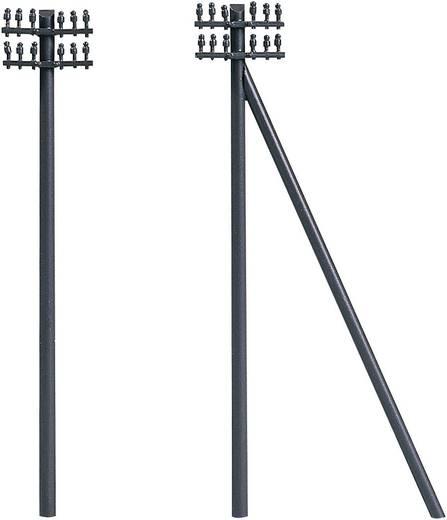 Auhagen 43586 TT Set telegraafmasten, 12 stuks