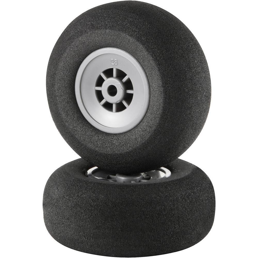 Reely Skumgummihjul för modellflyg Superlätt 51 mm 1 par