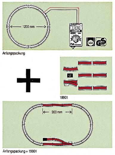 "LGB 19901 G railsuitbreidingsset ""zijspoor"" (19901)"
