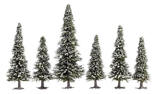 Set bomen Schneetanne Hoogte (min.): 60 mm Hoogte (max.): 150 mm NOCH 26428 Sneeuwwit 10 stuks