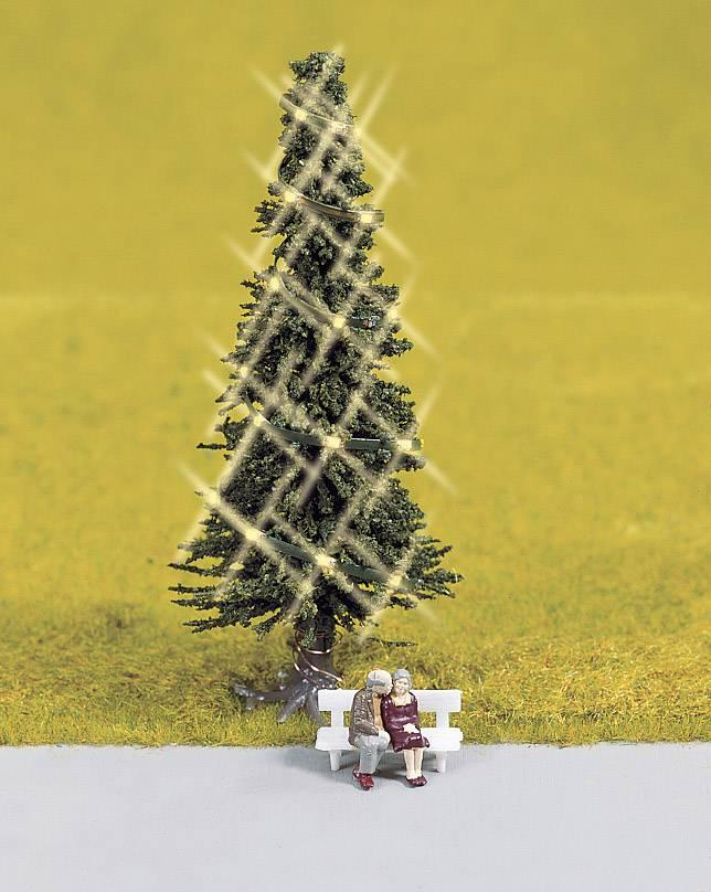NOCH 11911 H0 verlichte kerstboom Hoogte:80 mm   Conrad.be