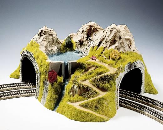 H0 Tunnel 2-sporig Kant-en-klaar model, Gebogen NOCH 05180