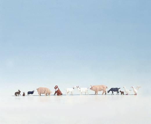 NOCH 15711 H0 figuren boerderijdieren