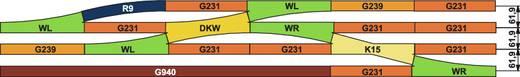 H0 Piko A-rails 55200 Rechte rails 239.07 mm