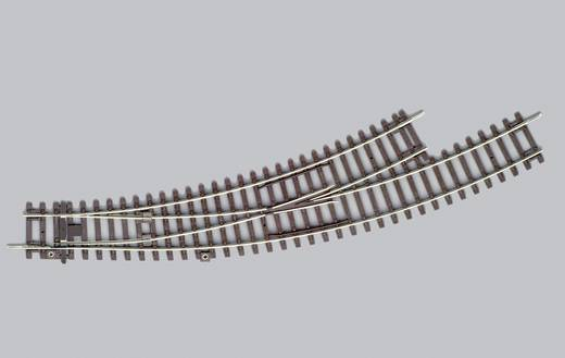 Piko H0 A-rails 55222 H0 Gebogen wissel links (1 stuks)