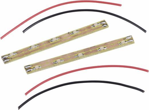 Interieurverlichting rijtuig Met LED's Geel (diffuus)