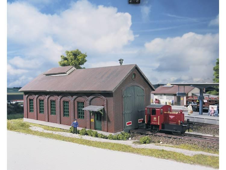 Piko H0 61823 H0 locomotievenloods Burgstein
