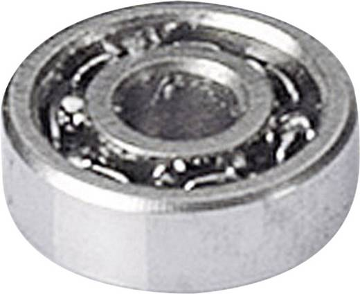 Reely Miniatuur kogellager Chroomstaal Binnendiameter: 1 mm Buitendiameter: 3 mm Toerental (max.): 150000 omw/min