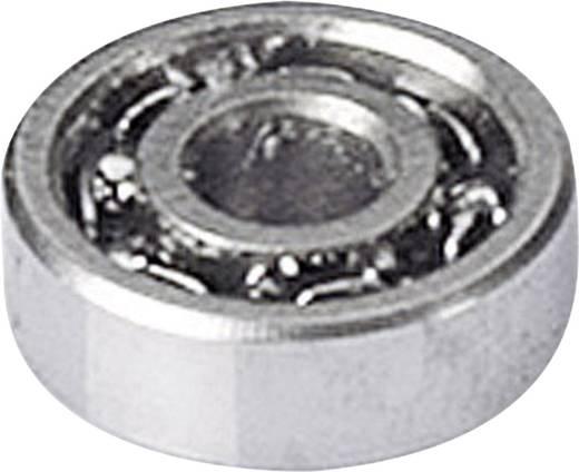 Reely Miniatuur kogellager Chroomstaal Binnendiameter: 2 mm Buitendiameter: 6 mm Toerental (max.): 85000 omw/min
