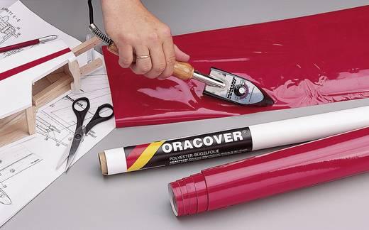Strijkfolie Oracover 21-029-002 (l x b) 2000 mm x 600 mm Rood (transparant)