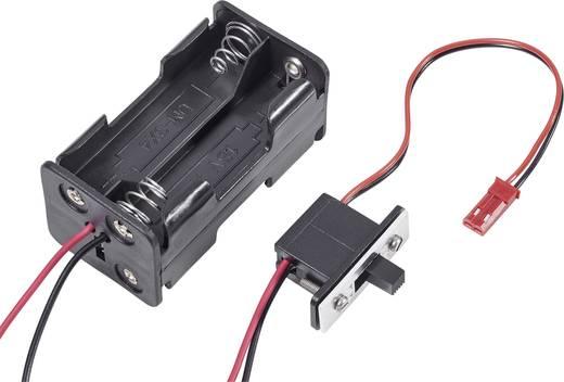Modelcraft Batterijbox met schakelaar Stekkersysteem: BEC