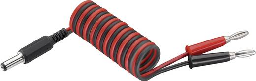Laadkabel voor JR zenders [2x Banaanstekker - 1x Holle stekker] 250 mm 0.50 mm² Modelcraft