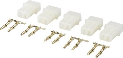 Modelcraft 223990 Accupack stekker AMP Verguld 1 set