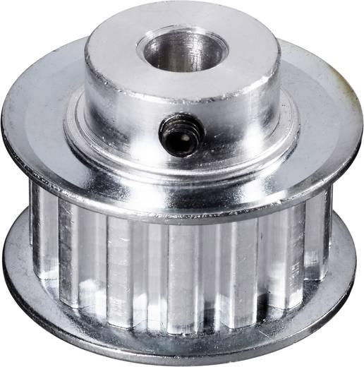 Reely Aluminium Tandriemschijf Boordiameter: 6 mm Diameter: 24 mm Aantal tanden: 10