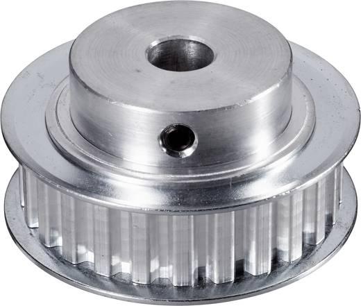 Reely Aluminium Tandriemschijf Boordiameter: 8 mm Diameter: 45 mm Aantal tanden: 25