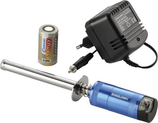Modelcraft gloeibougiestekker-set incl. 3000 mAh Sub-C batterij