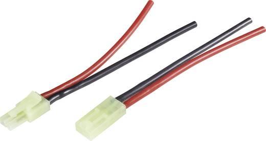 Accu Kabel [ Mini Tamiya-stekker, Mini Tamiya jack - 2x Open einde] 2.50 mm² Modelcraft