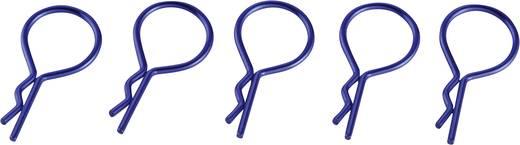 Reely 1:10 Bodyklemmen Blauw Lengte: 25 mm 5 stuks