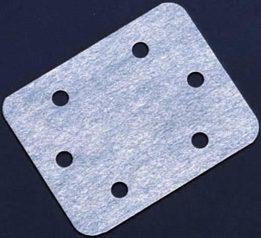 Scharnierplaat Rechthoekig Vezelstof Kavan (l x b) 25 mm x 20 mm 12 stuks