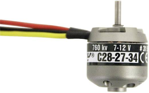ROXXY BL Outrunner 2827-34 7-12 V Brushless elektromotor voor vliegtuigen kV (rpm/volt): 760