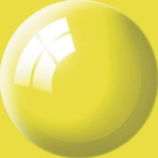 Revell 36112 Aqua Color verf Geel (glanzend) Kleurcode: 12 RAL-kleurcode: 1018 Doos 18 ml