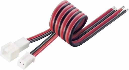 Accu Kabel [ MC-stekker, MC-bus - 2x Open einde] 0.50 mm² Modelcraft