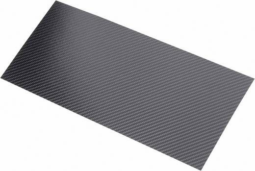 Carbonplaat Carbotec (l x b) 340 mm x 150 mm 0.30 mm