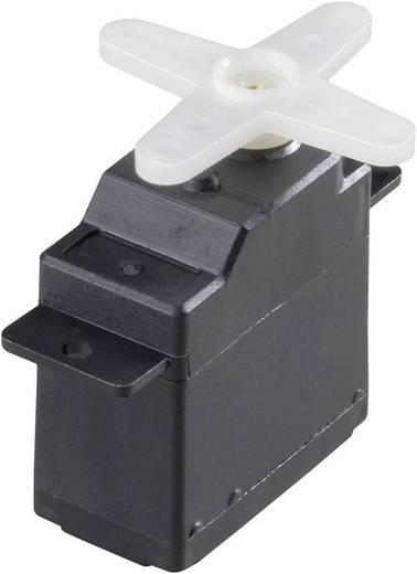 Modelcraft Mini-servo WG-90MG Analoge servo Materiaal (aandrijving): Metaal Stekkersysteem: JR