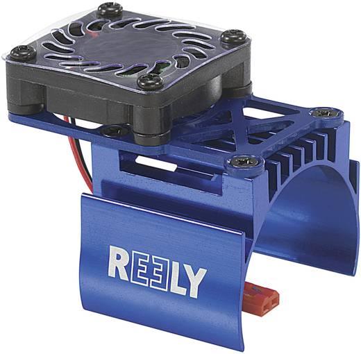 Reely Koelelement voor serie 540 motor met ventilator Uitvoering Centraal geplaatste ventilator kleur Blauw