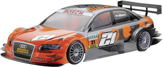 Reely 237987 1:10 Body Audi A4 DTM 2008 Geverfd, gesneden, beplakt