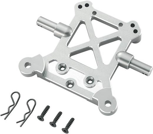 Reely 511387 Tuningonderdeel Upgrade aluminium demperbrug achter deel 1
