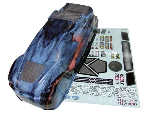 Reely 200812P3 1:8 Body Overheater Geverfd, gesneden, beplakt
