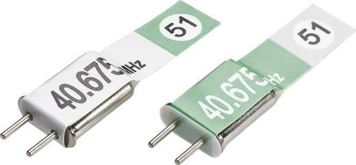 Modelcraft Modelbouw kristalpaar 40 MHz AM Kanaal (frequentie): 51
