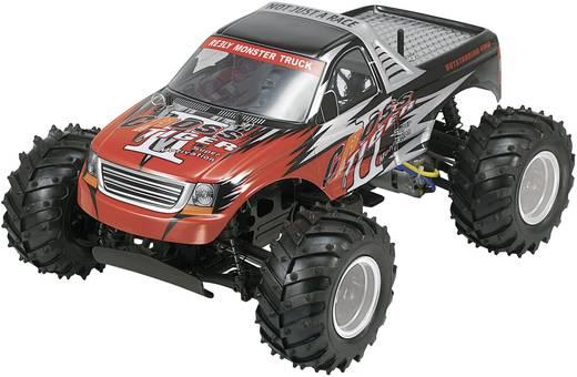 Reely 1:10 Monstertruck Complete wielen Traktor 5-spaaks Chroom 4 stuks