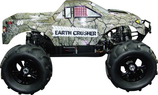 Reely 200808P6 1:8 Body Earth Crusher Geverfd