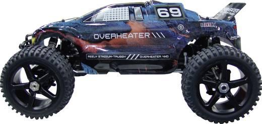Reely 1:8 Truggy Complete wielen Overheater 5-spaaks Zwart 1 paar