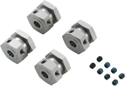 Reely 511492C Aluminium CNC velgmeenemer 6-kant (4 stuks)