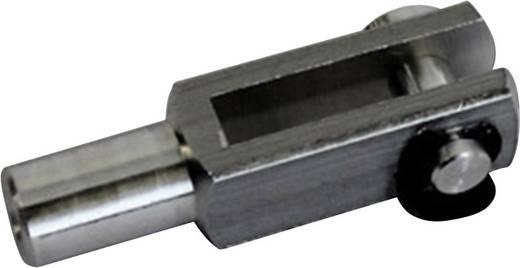 Modelcraft Aluminium Gaffelkop met binnenschroefdraad M4 5 stuks