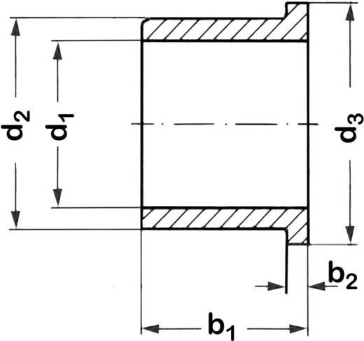 Kraagbus Reely Binnendiameter: 2 mm Buitendiameter: 5 mm Breedte: 3 mm 1 stuks