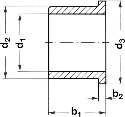 Kraagbus Reely Binnendiameter: 6 mm Buitendiameter: 10 mm Breedte: 15 mm 1 stuks