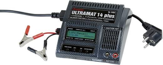 Graupner Ultramat 14 Plus Modelbouw multifunctionele lader 12 V, 220 V 5 A Lood, Li-poly, LiFePO, NiMH, NiCd, Li-ion