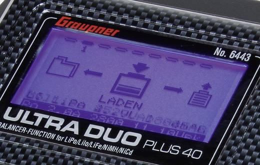 Graupner Ultra Duo Plus 45 Modelbouw multifunctionele lader 12 V 20 A Lood, LiFePO, Li-ion, Li-poly, NiCd, NiMH