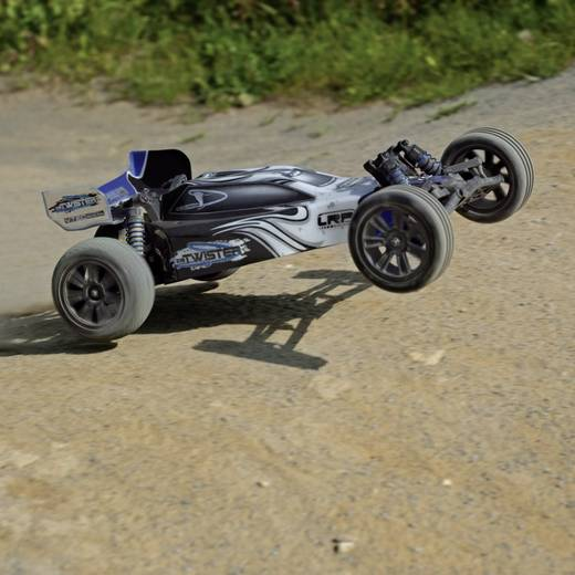 LRP Electronic S10 Twister 1:10 Brushed RC auto Elektro Buggy Achterwielaandrijving 100% RTR 2,4 GHz
