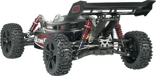 Reely 1:8 Buggy Complete wielen Stollen 5-spaaks Zwart 4 stuks