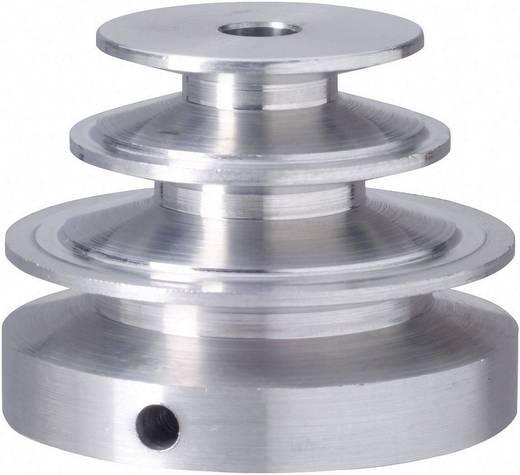 Reely Aluminium V-riemschijf Boordiameter: 6 mm