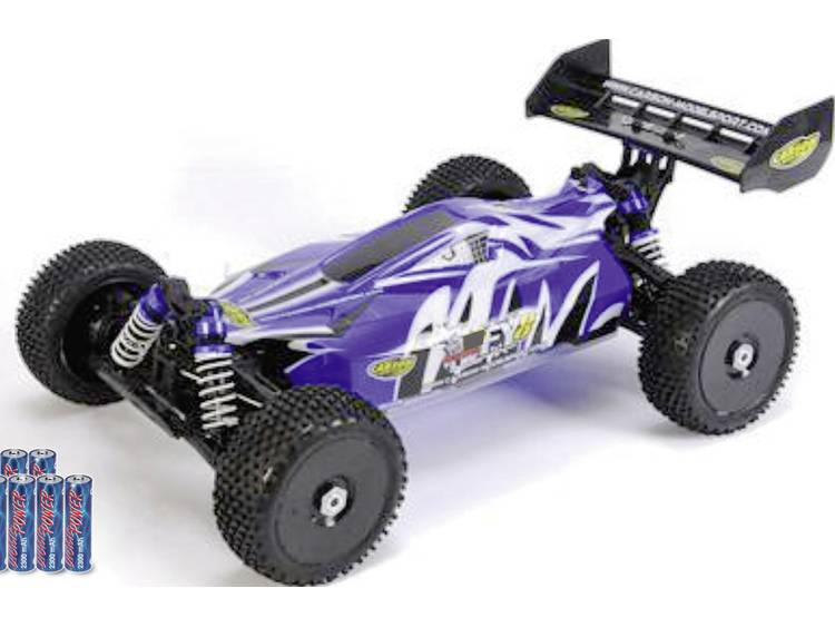 Carson Destroyer Line BL 4S Brushless 1:8 RC auto Elektro Buggy 4WD RTR 2.4 GHz