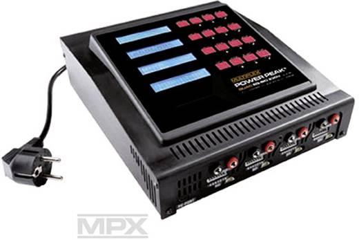 Power Peak Quad EQ-BID 230V Modelbouw multifunctionele lader 5 A Lood, LiFePO, Li-ion, Li-poly, NiCd, NiMH