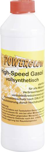 2-Takt-olie 500 ml Powerglow High Speed Gas-Oil